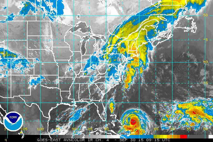 September 30, 2015 Joaquin satellite0915z